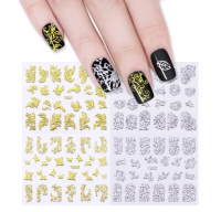 3D-наклейки на ногти