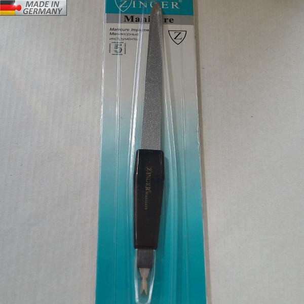 Металлическая пилка (12 см) + триммер GERMANY, # 8107-1