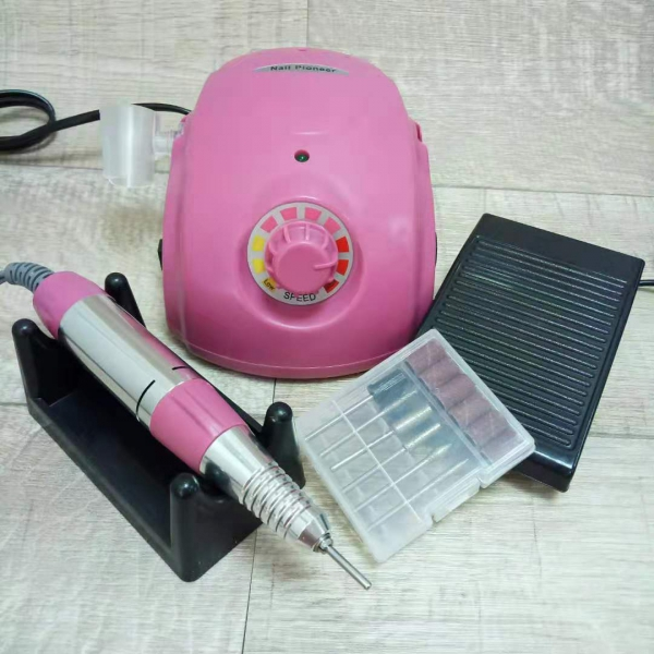 Аппарат для маникюра и педикюра DM-996 (розовый), 35 тыс. об/мин