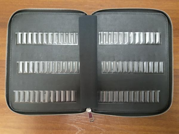 """""""Книжка"""" для фрез, 72 ячейки"""