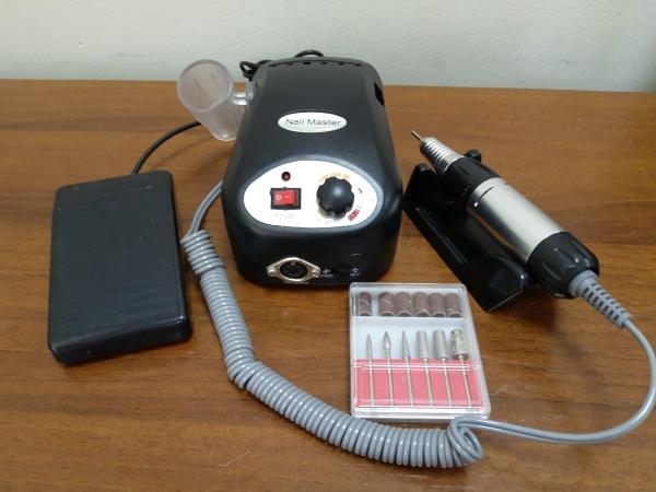 Аппарат для маникюра и педикюра ZS-217 (черный), 35 тыс. об/мин
