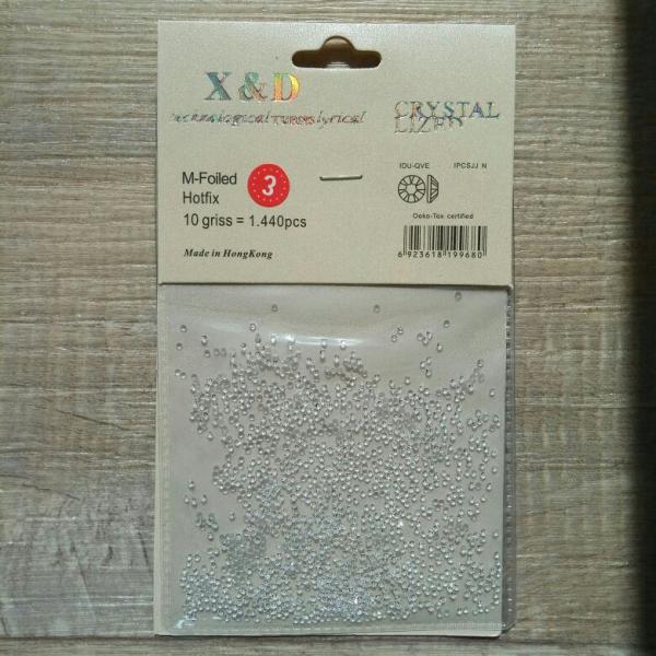 Хрустальная крошка КЛАССИК (1.4 мм), 1400 штук