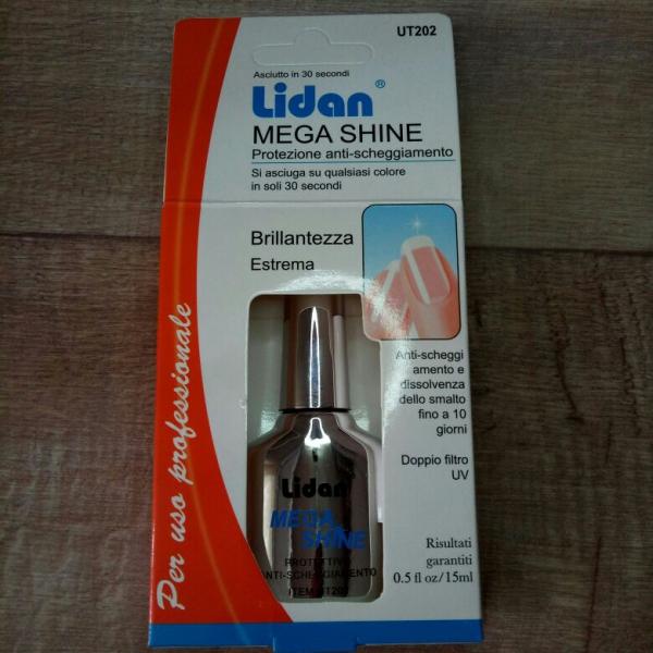 """Универсальный топ Mega-Shine """"Lidan"""" #202, 15 мл."""