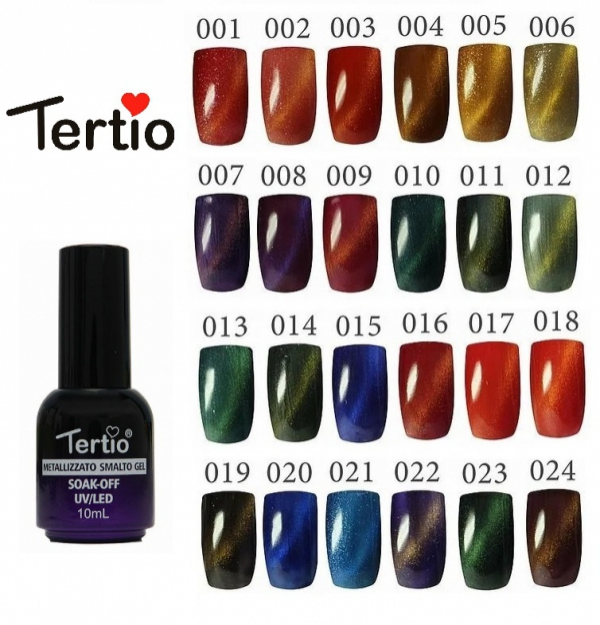 "Гель-лак ""Tertio"" Cat's Eye, № 10"