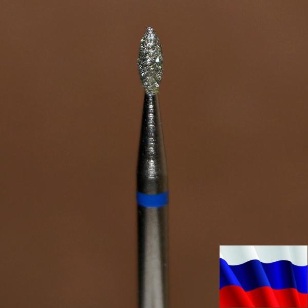 "Алмазная фреза ""ПОЧКА"" (синяя), d=1,8 мм"