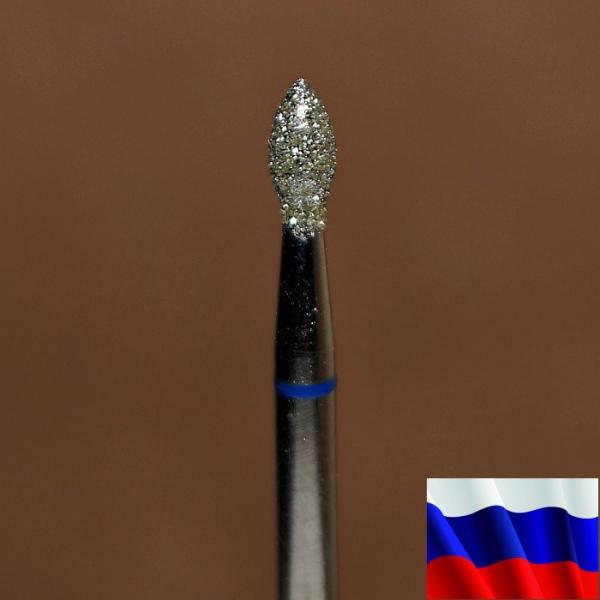 "Алмазная фреза ""ПОЧКА"" (синяя), d=2,5 мм"