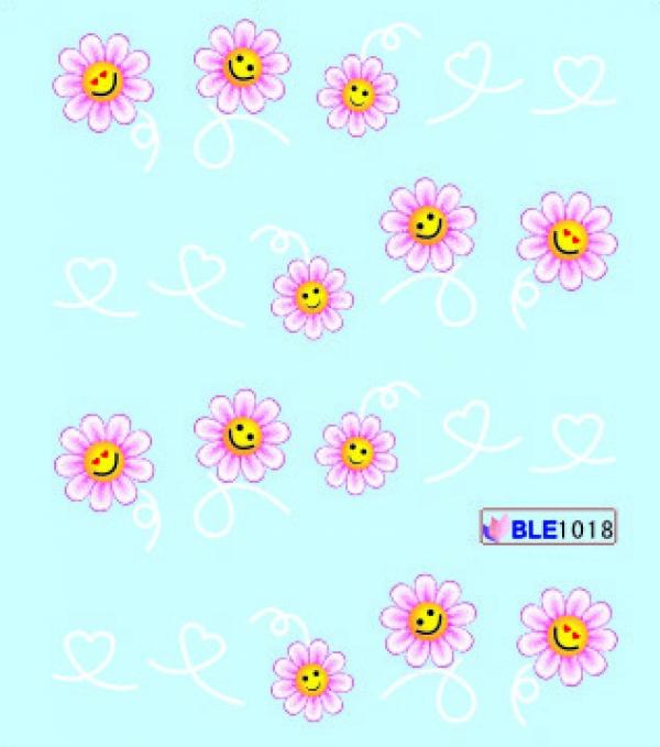 Наклейки цветные, № BLE1018