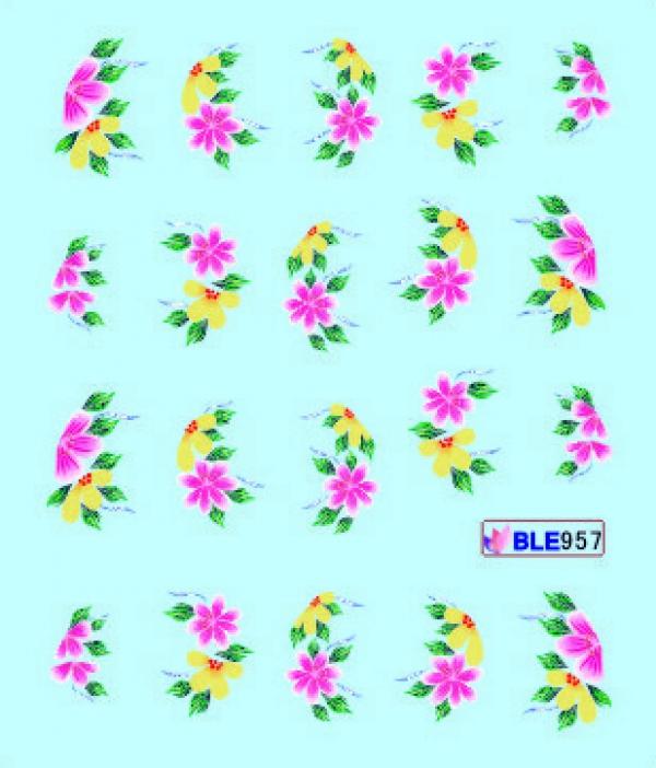Наклейки цветные, № BLE957