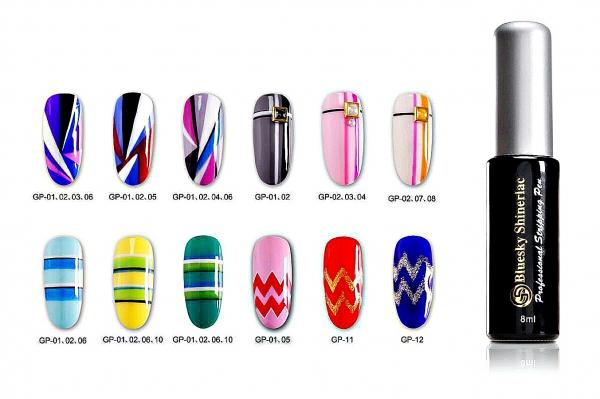 красивый дизайн ногтей лаком