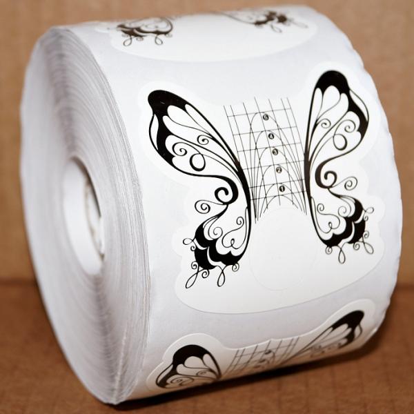 """Формы """"Черная бабочка"""" широкие, 500 шт."""