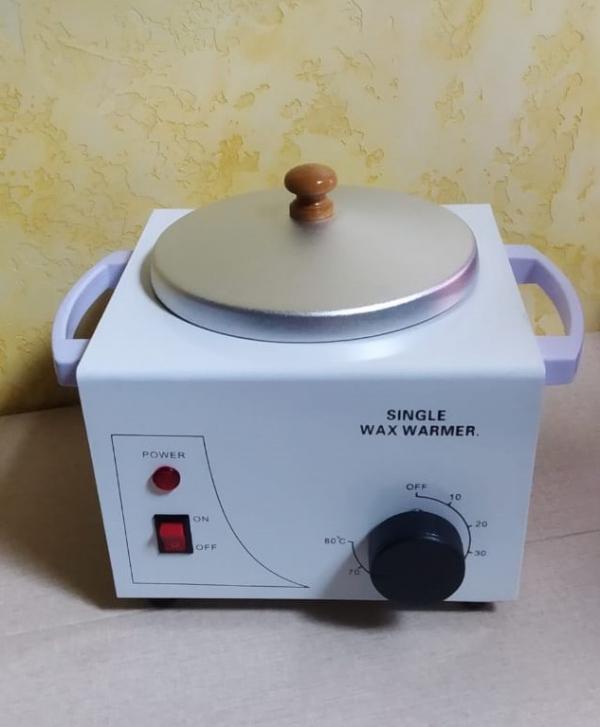 "Воскоплав ""Super-WAX"" белый / с регулятором температуры"