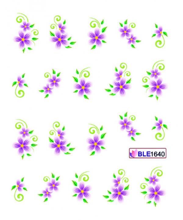 Наклейки цветные, № BLE1640