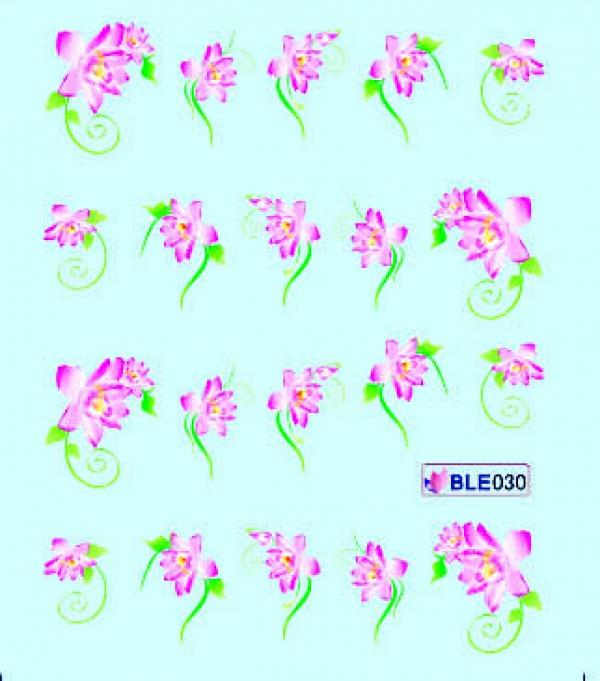 Наклейки цветные, № BLE030