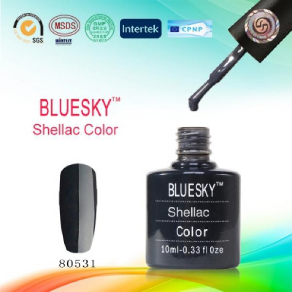 гель лак shellac bluesky