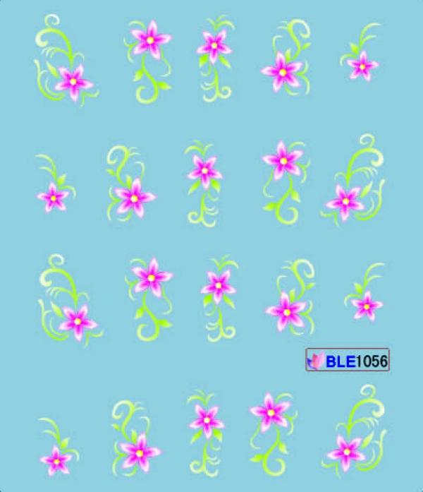 Наклейки цветные, № BLE1056