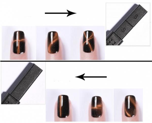 Магнит-палочка для гель-лака (2 стороны)