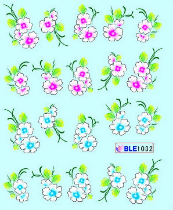 Наклейки цветные, № BLE1032