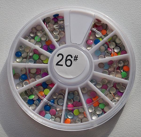 КАРУСЕЛЬ - украшения (цветные, круглые), #26