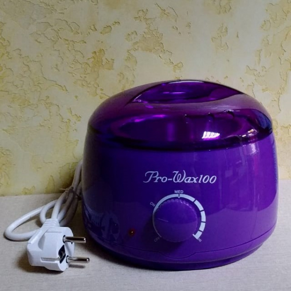 """Воскоплав """"Pro-Wax100"""" фиолетовый / с регулятором температуры"""