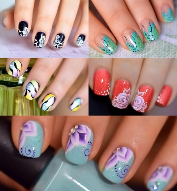 рисование на ногтях