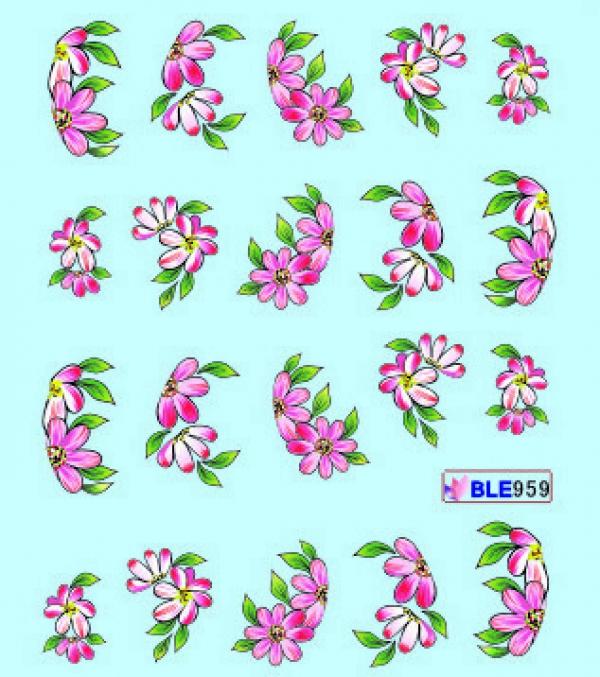 Наклейки цветные, № BLE959