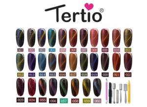 """Шеллак """"Tertio"""" 3D-Кошачий глаз, № 10"""