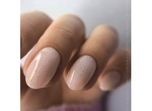 GRATTOL Rubber Base Glitter (камуфлирующая база с шиммером), #4
