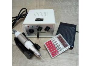 Аппарат для маникюра и педикюра DM-203 (белый), 35 тыс. об/мин