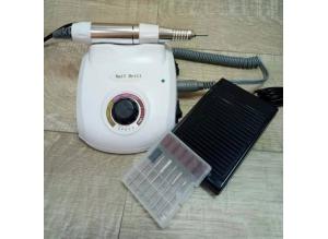 Аппарат для маникюра и педикюра DM-208 (белый), 35 тыс. об/мин