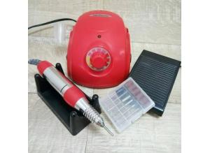 Аппарат для маникюра и педикюра DM-996 (красный), 35 тыс. об/мин