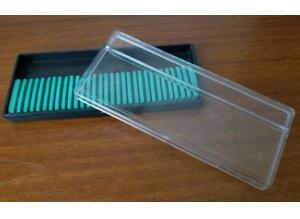 Пластиковый пенал для фрез, 30 ячеек