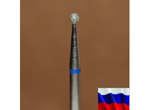 """Алмазная фреза """"ШАРИК"""" (синяя), d=2,1 мм"""