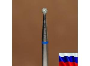 "Алмазная фреза ""ШАР"" (синяя), d=2,3 мм"