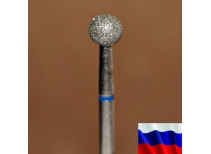 "Алмазная фреза ""ШАР"" (синяя), d=4,0 мм"