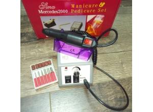Машинка для маникюра MERCEDES-2000 (серая), 20 тыс. об/мин