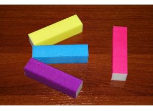 Блок шлифовальный 4-х сторонний (цветной)