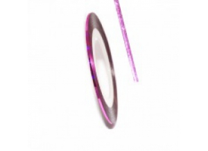 Нить для дизайна ногтей на клейкой основе (светло-розовая)