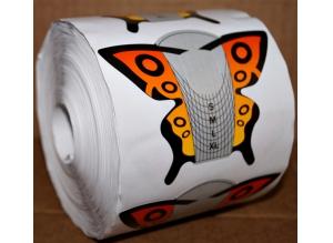 """Формы """"Цветная бабочка"""" широкие, 500 шт."""