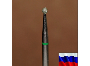 "Алмазная фреза ""ШАР"" (зеленая), d=2,1 мм"