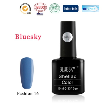 Shellac BLUESKY, № Fashion 16
