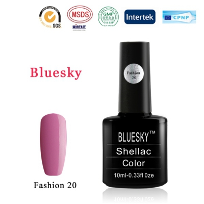Shellac BLUESKY, № Fashion 20