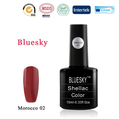 Shellac BLUESKY, № Morocco 02