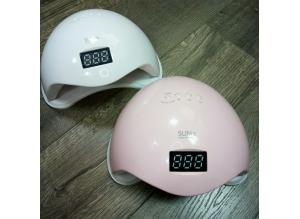 """UV LED лампа """"SUN 5"""" (розовая), 48 Вт"""