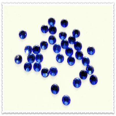 """Украшения Сваровски синие """"SS8"""" - 2,5 мм (в наборе 100 штук)"""