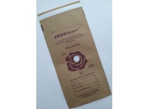 "Пакет из КРАФТ-БУМАГИ для стерилизации ""DGM Steriguard"", 100*200 мм"