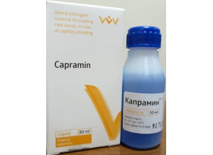 "Кровоостанавливающая жидкость ""Капрамин"", 30 мл."
