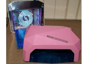LED+CCFL лампа 36 Вт (розовая)