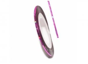 Нить для дизайна ногтей на клейкой основе (розовая)