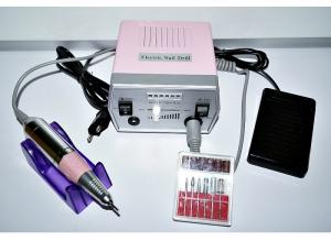 Аппарат для маникюра и педикюра DR-288 (розовый), 35 тыс. об/мин