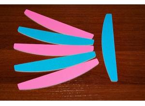 Пилка цветная YOKO (полукруглая), 240/240 грит